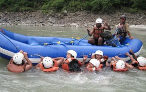 Rafting in Seti River